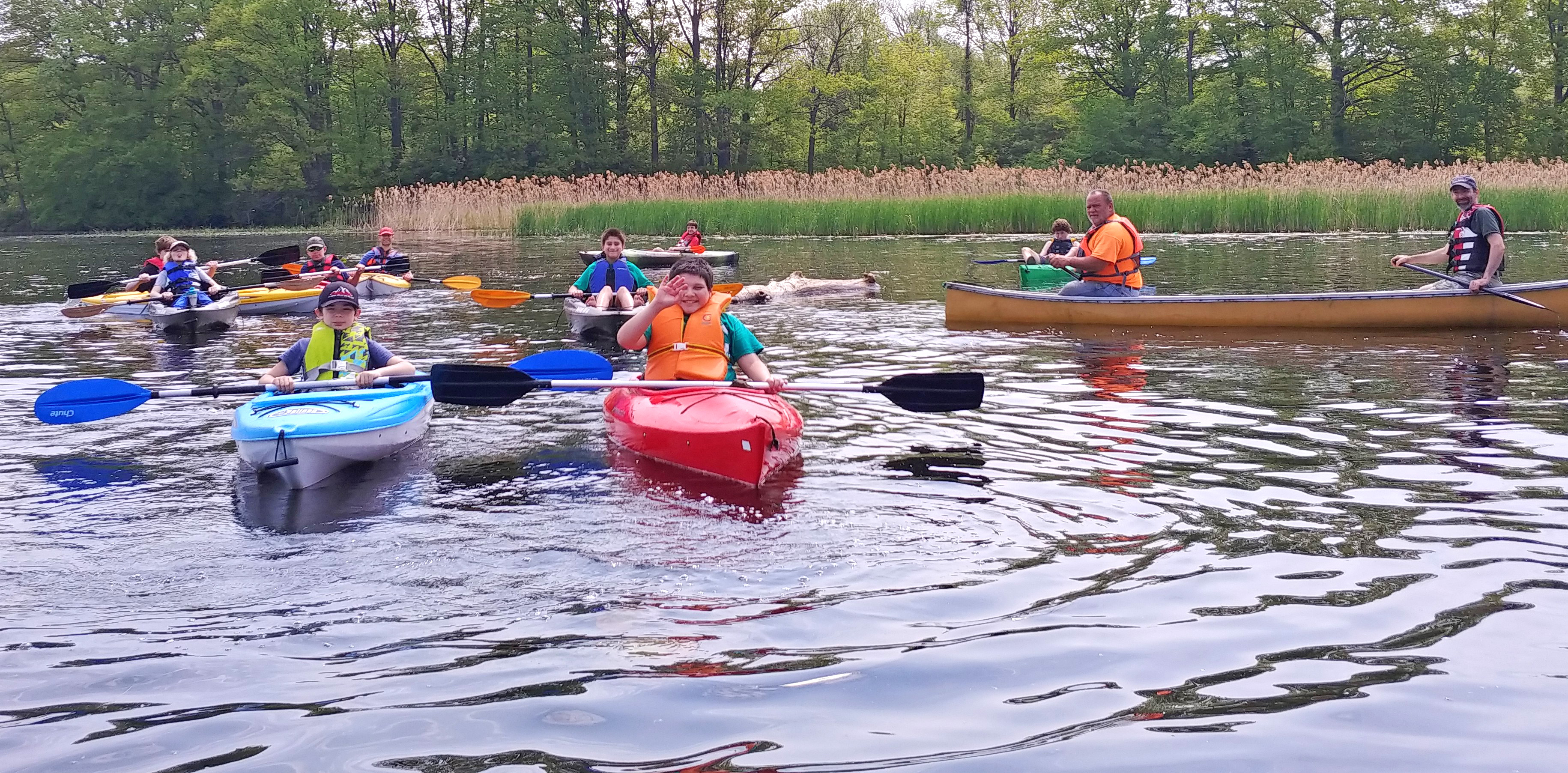 Walworth Scouts pitch-in while enjoying Lake Onatrio